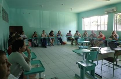 Professores iniciam treinamento sobre Meio Ambiente