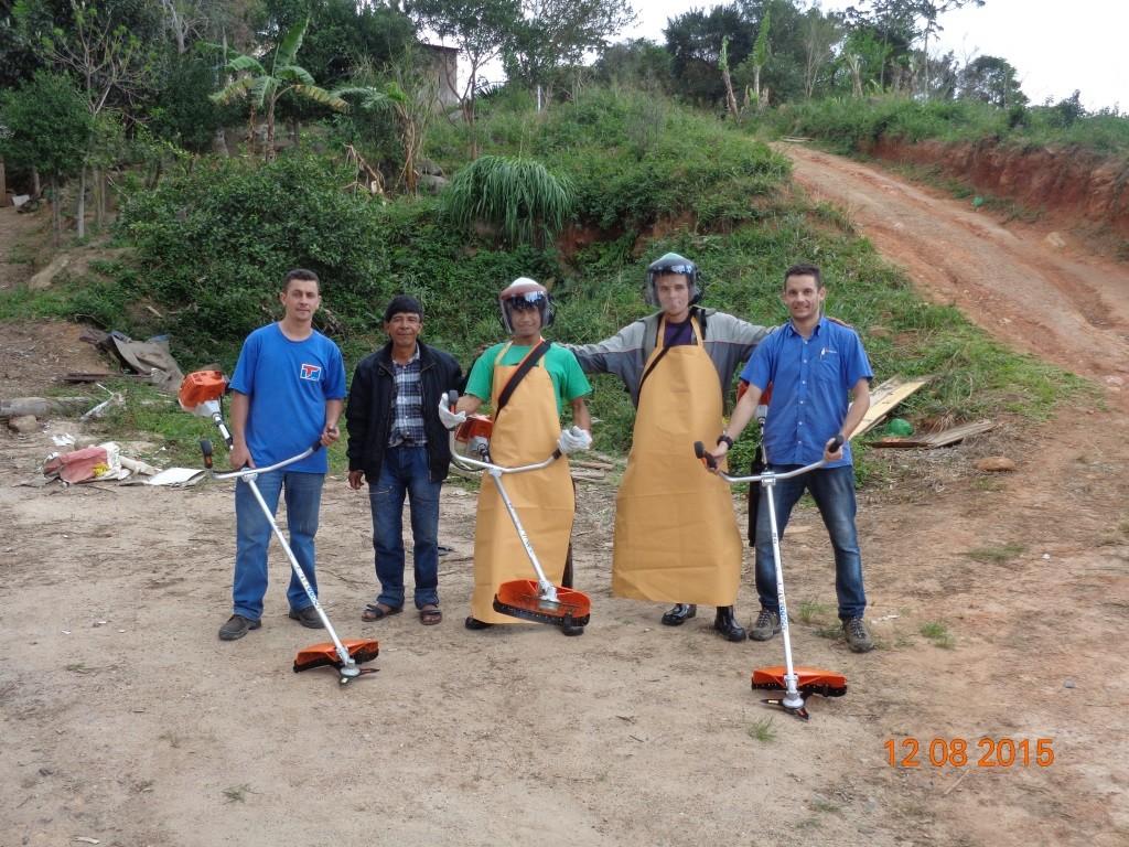 Capacitação para indígenas - Aldeia Praia de Fora II