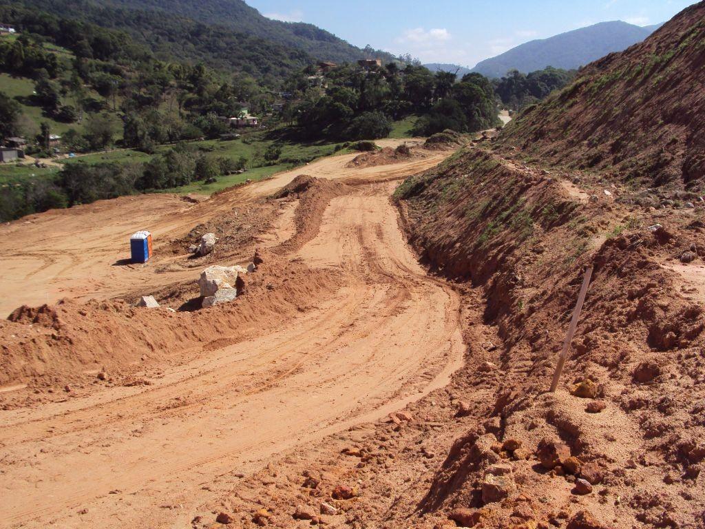 Obras Contorno de Florianópolis - Setembro de 2014