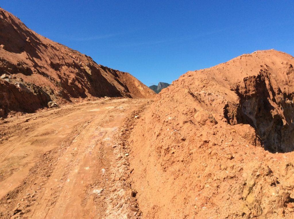 Obras Contorno de Florianópolis - Outubro de 2014