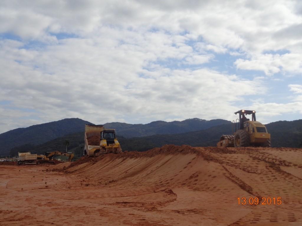 Obras Contorno Viário - Setembro de 2015