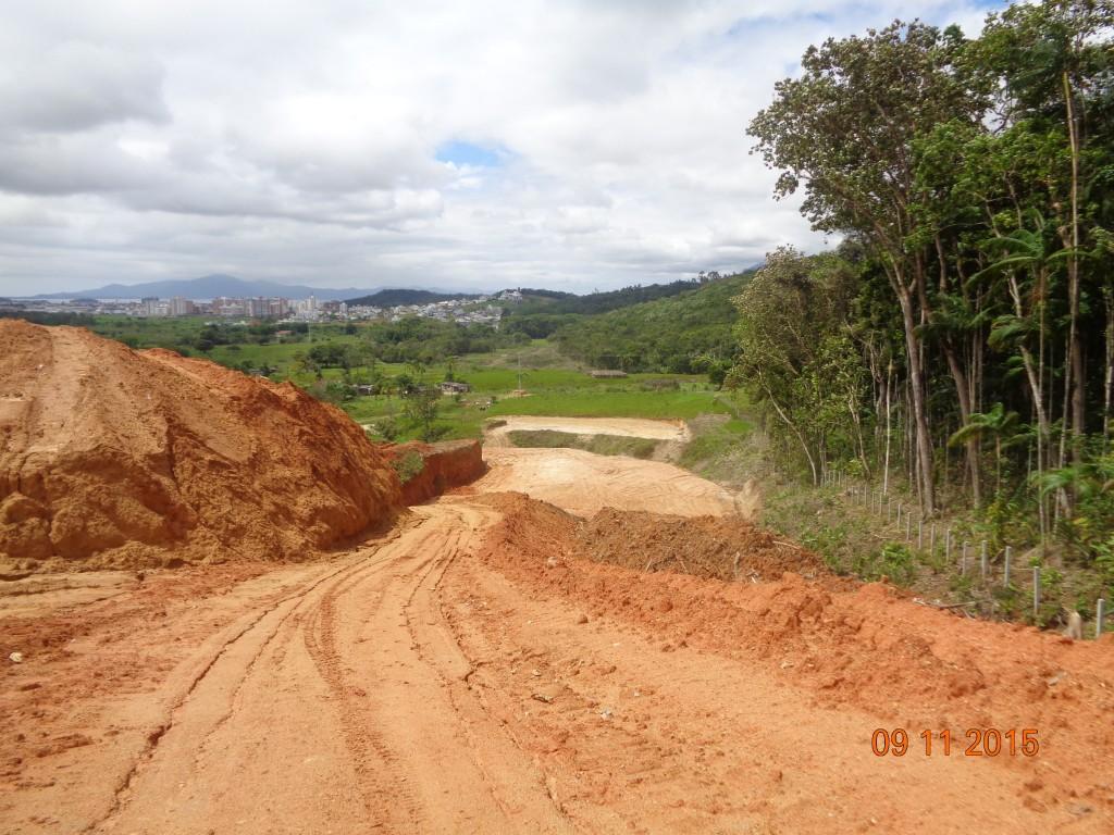 Contorno Viário - Obras Trecho Intermediário - Novembro de 2015