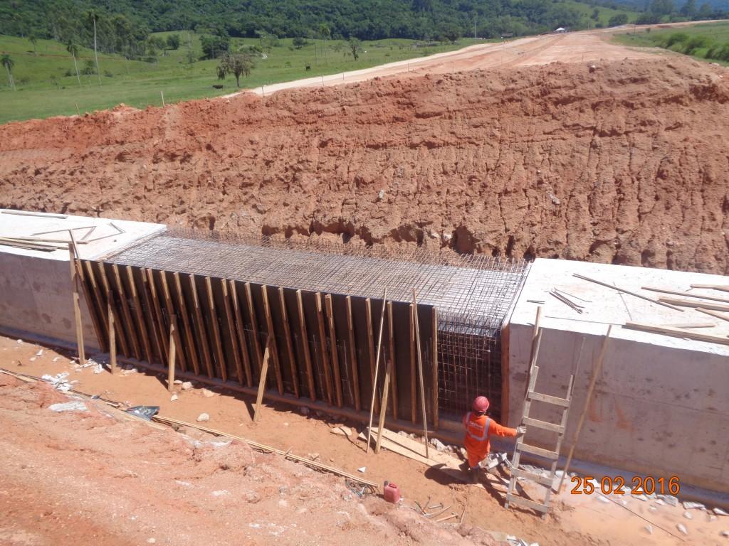 Obras Contorno - Fevereiro de 2016 - Trecho Intermediário