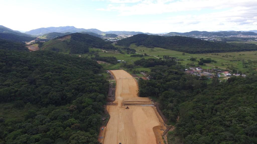 Contorno de Florianópolis - Trecho Intermediário (Subtrecho 4) - Abril 2016