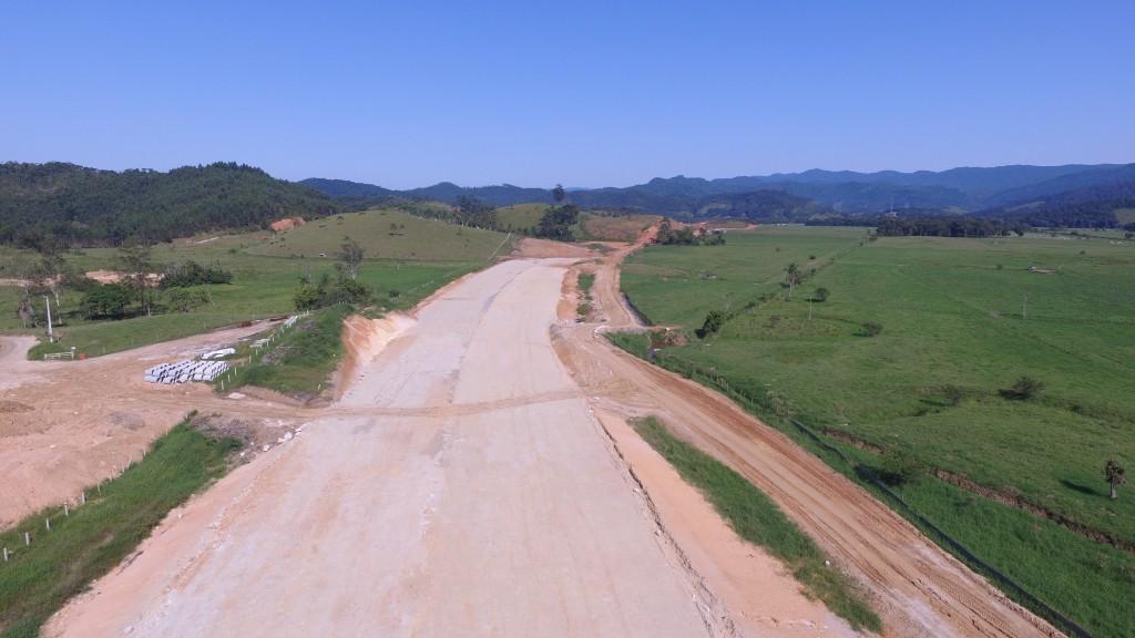 Contorno Viário de Florianópolis - Trecho Norte - Biguaçu - Abril de 2016