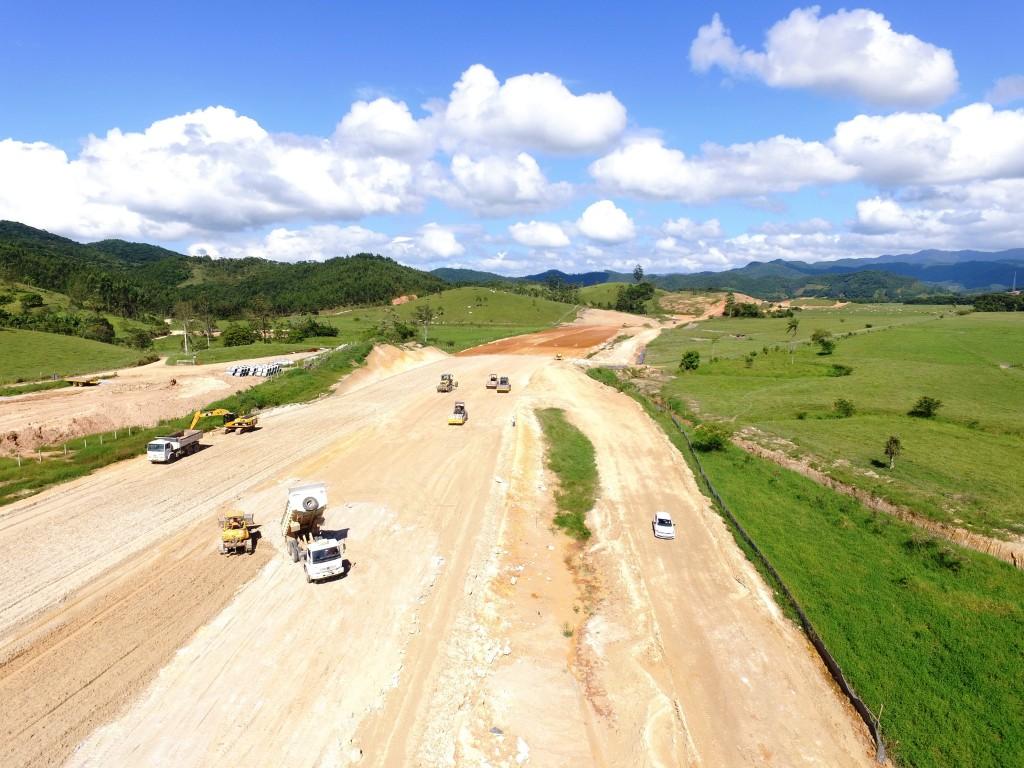 Contorno de Florianópolis - Trecho Norte (Biguaçu) Março de 2016
