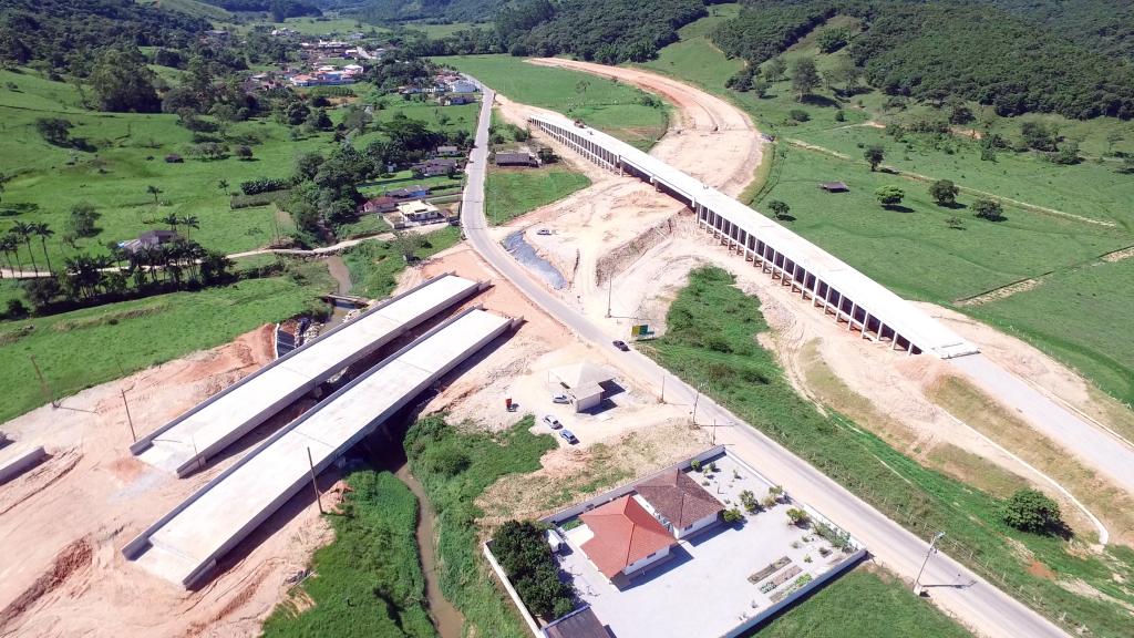 Contorno Viário de Florianópolis - Trecho Intermediário - São José - Janeiro de 2016