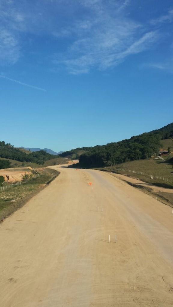 Andamento das obras -Trecho Intermediário - Julho 2016