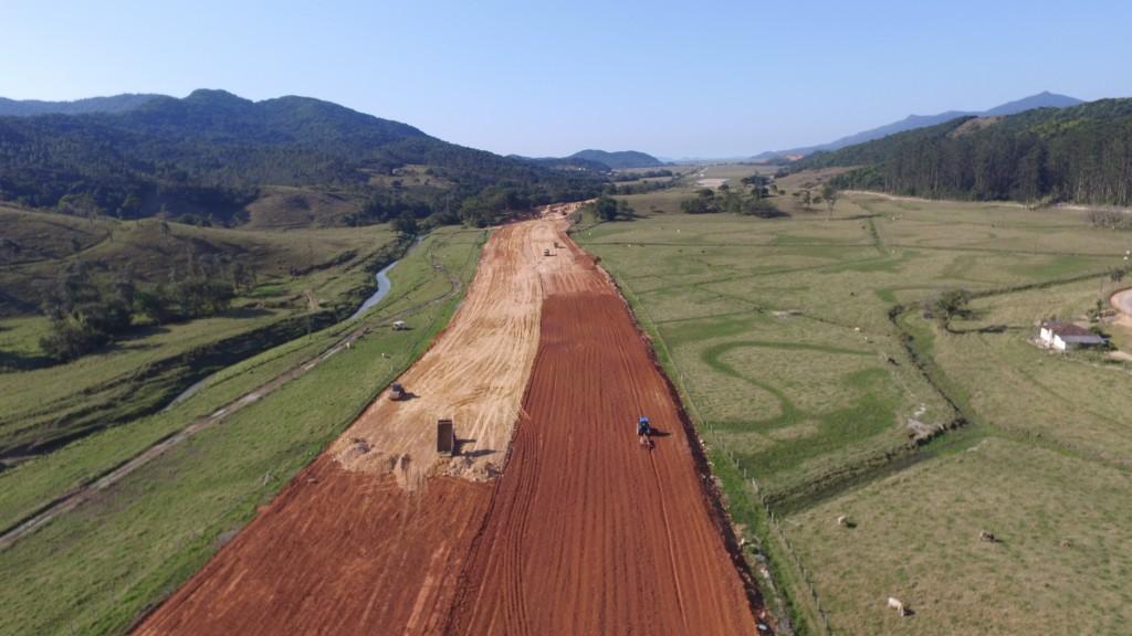 Obras Trecho Norte, Biguaçu - Agosto 2016