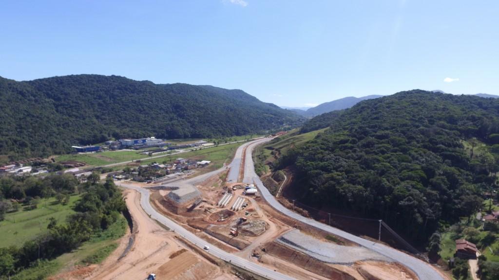Obras no Trecho Intermediário, São José, Agosto de 2016.JPG