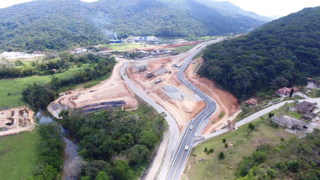Obras no Trecho Intermediário - Outubro de 2016