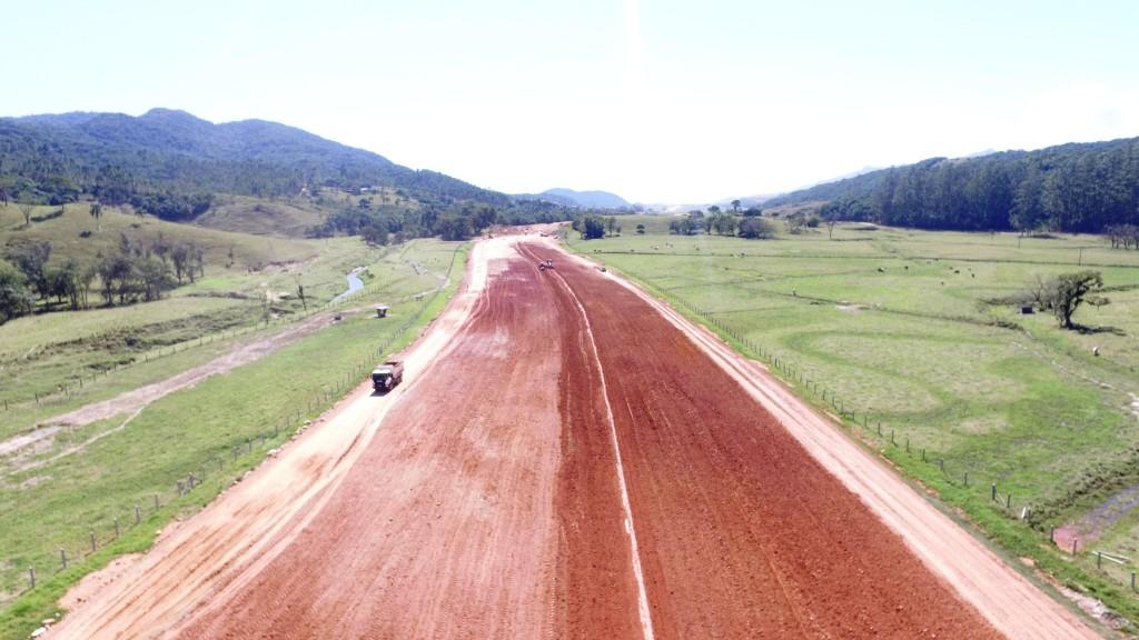 Obras no Trecho Norte _ Biguaçu - Outubro de 2016