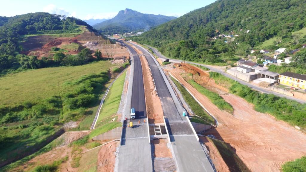 Contorno Viário de Florianópolis - trecho intermediário dezembro/janeiro 2017