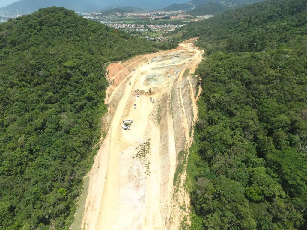 Contorno de Florianópolis - Obras Novembro de 2017