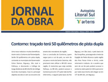 Jornal da Obra - 1ª Edição