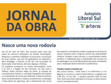 Jornal da Obra - 2ª Edição