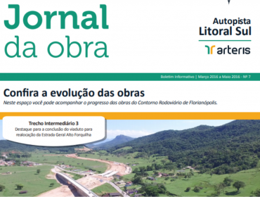 JORNAL DA OBRA - 7ª EDIÇÃO