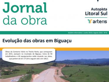 JORNAL DA OBRA - 8ª EDIÇÃO
