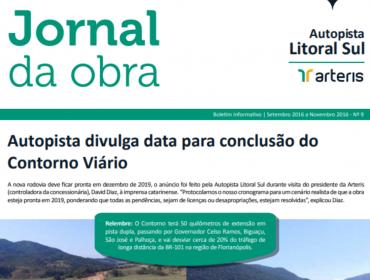 JORNAL DA OBRA - 9ª EDIÇÃO