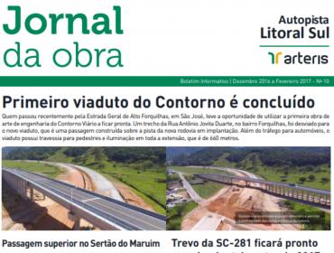 JORNAL DA OBRA - 10ª EDIÇÃO
