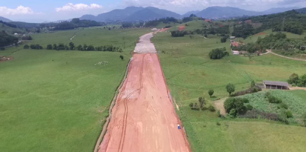 Obras Contorno BIguaçu - Março de 2018