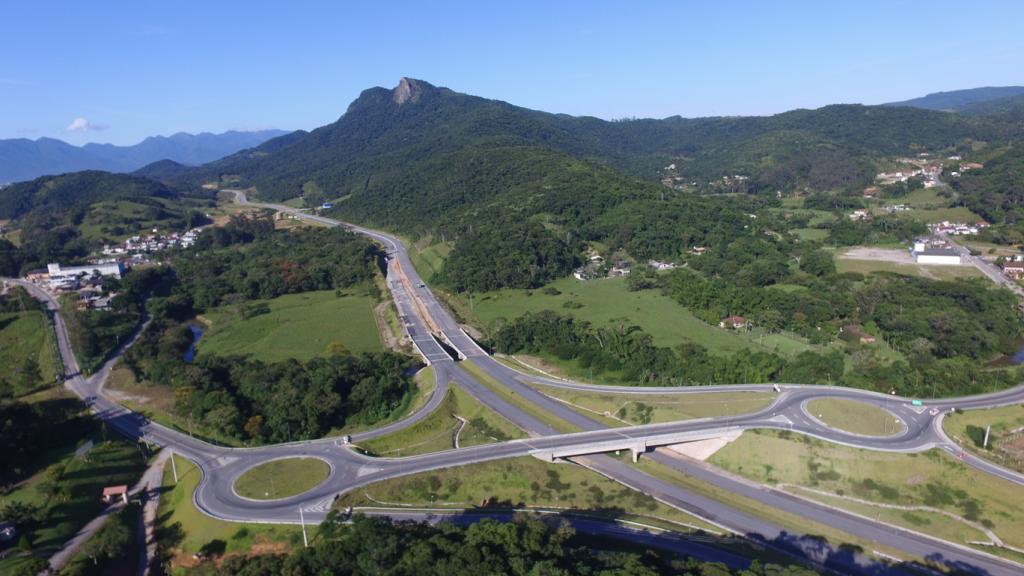Fotos Contorno _ Trecho Intermediário _São José, Vista Aérea Pedra Branca - Abril de 2018
