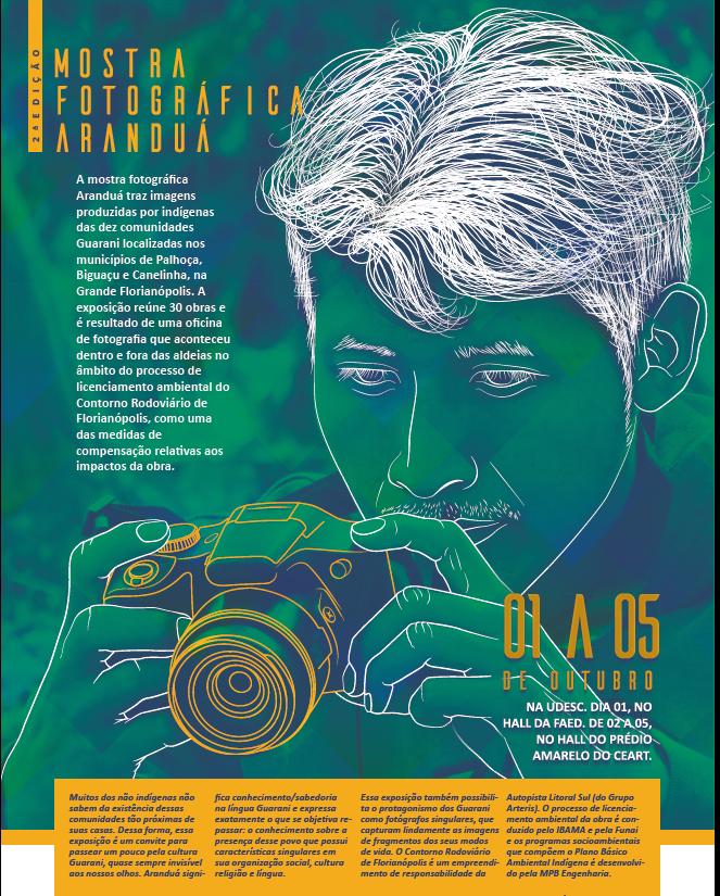 UDESC RECEBE EXPOSIÇÃO DE FOTOGRAFIAS FEITAS POR INDÍGENAS DA REGIÃO DA GRANDE FLORIANÓPOLIS