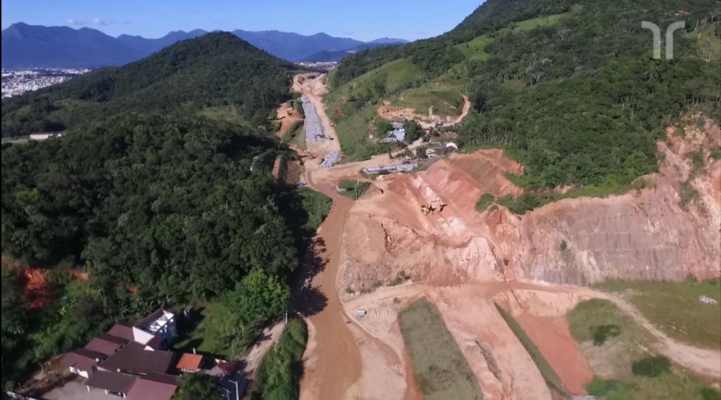 Maio de 2018 TRecho INtermediário entre São José e Palhoça