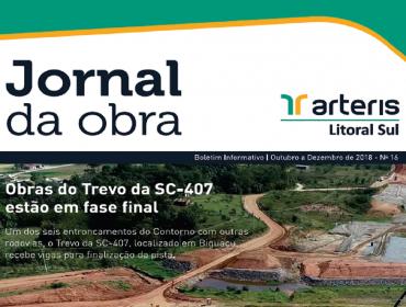 JORNAL DA OBRA -16ª EDIÇÃO