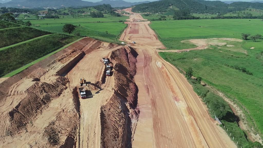 Obras no KM 192, em Biguaçu- Fevereiro de 2019 .JPG