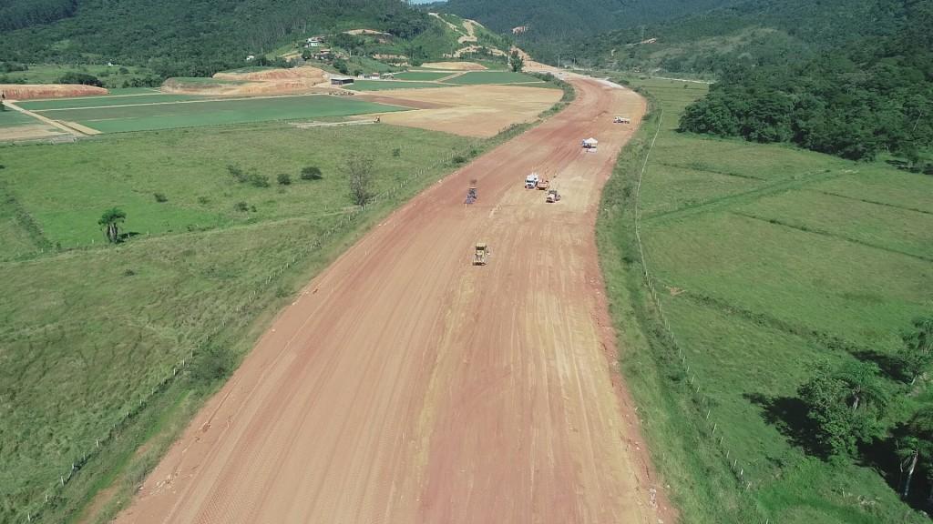 Trecho Norte, em Biguaçu - abril 2019