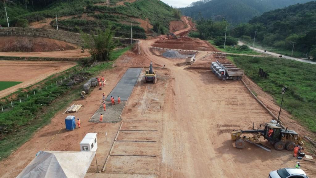 Obras no Trecho Norte, em Biguaçu
