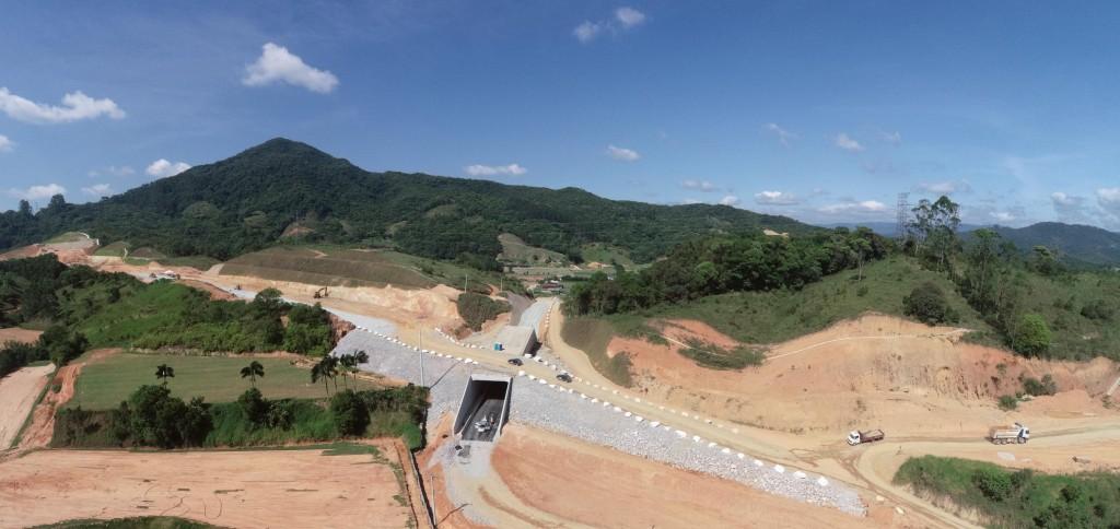 Obras de Biguaçu - janeiro 2020