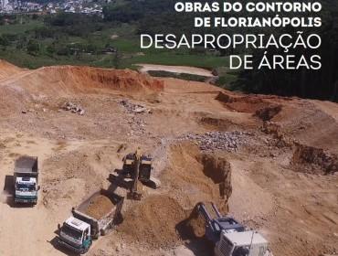 OBRAS DO CONTORNO DE FLORIANÓPOLIS – DESAPROPRIAÇÃO DE ÁREAS