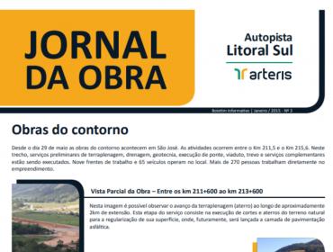 JORNAL DA OBRA – 3ª EDIÇÃO