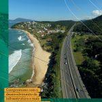 #12 anos de presença da Arteris Litoral Sul nos estados do Paraná e Santa Catarina