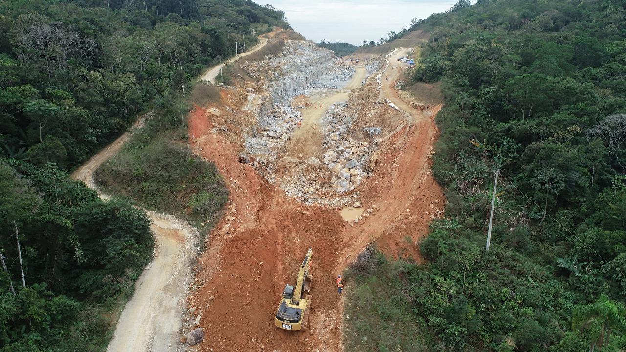 Detonações de rochas em Biguaçu ocorrem dia 18 de março