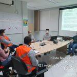 Arteris Litoral Sul oferece treinamentos às construtoras que trabalham no Contorno Viário
