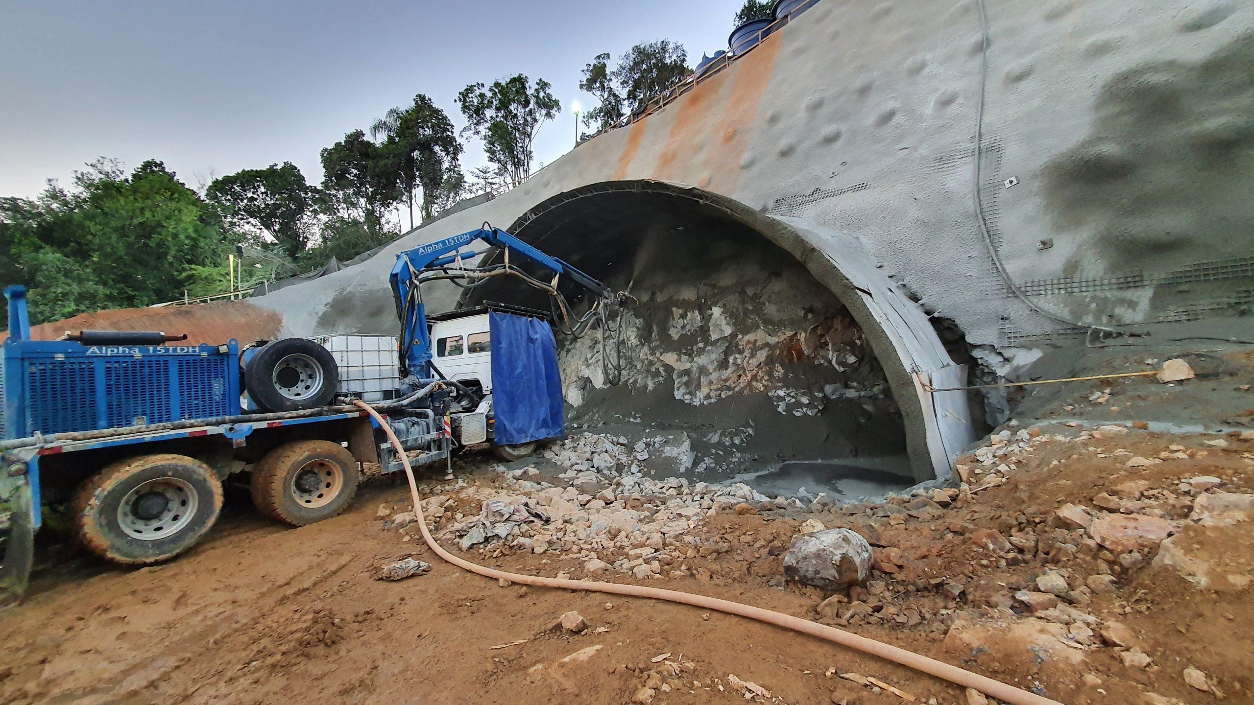 Escavações subterrâneas do túnel 1 começam nesta semana