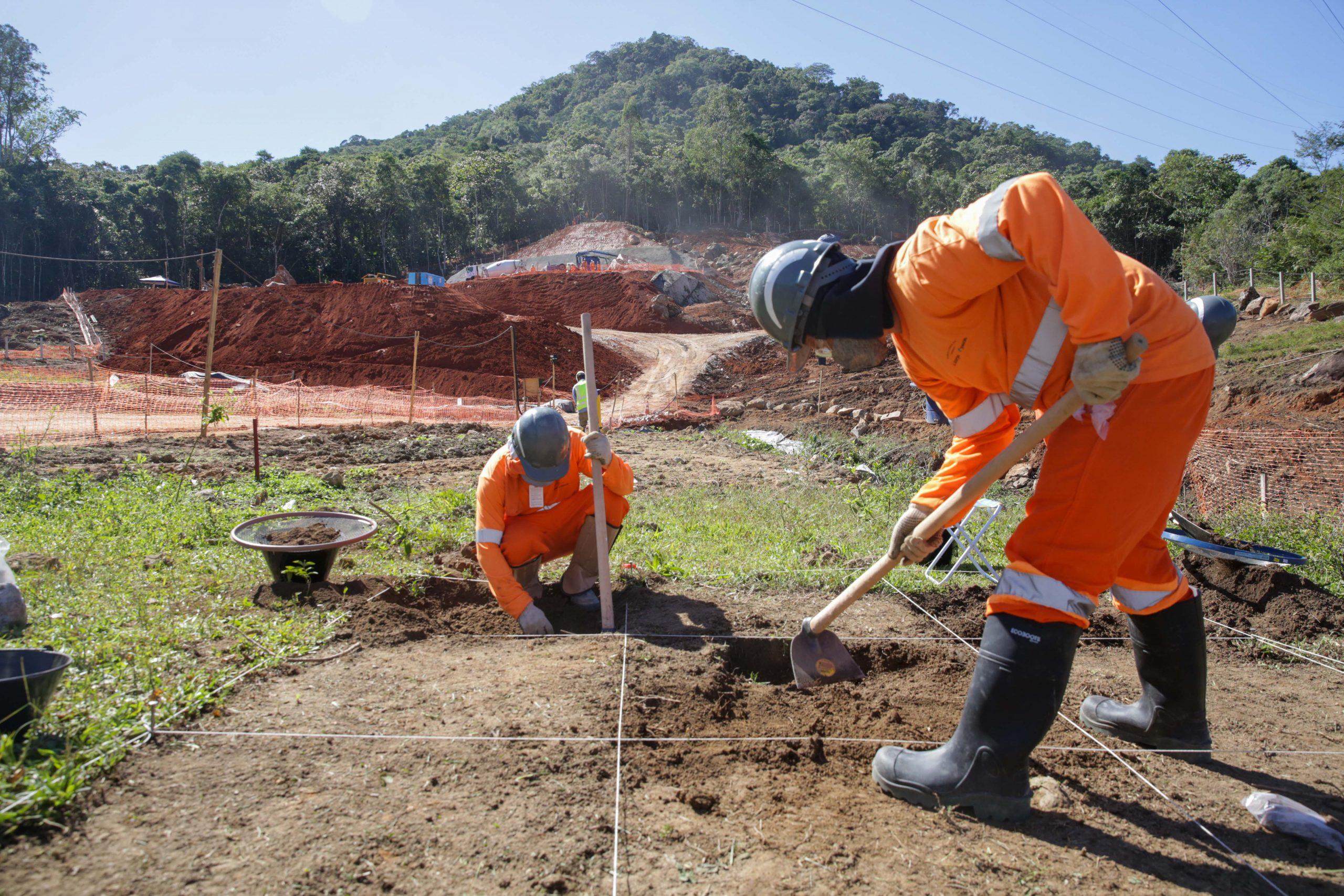 Novo sítio arqueológico é encontrado no Contorno